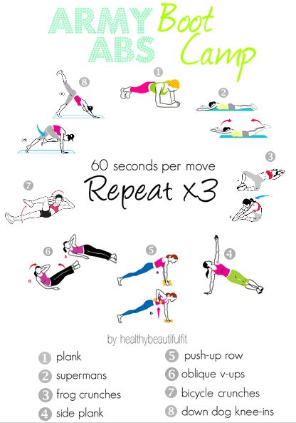 army abs boot camp!