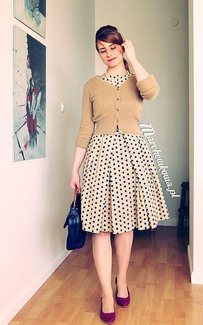 30 Polka Dot Dresses – Cuteness Overload   http://hercanvas.com/polka-dot-dresses-cuteness-overload/