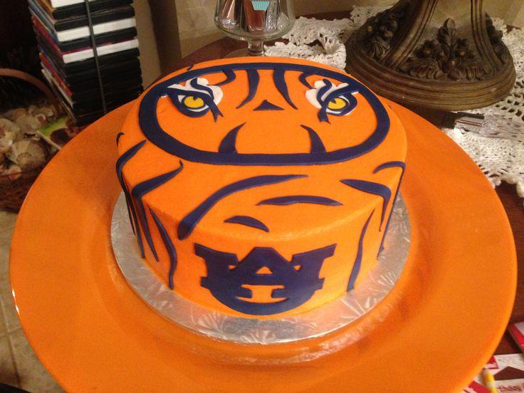 Auburn Cake Auburn Pinterest Auburn Cake And Cakes