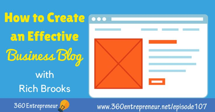TSE 107: How to Create an Effective Business Blog with Rich Brooks