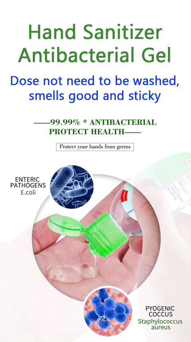 Portable Hand Sanitizer Antibacterial Gel In 2020 Hand Sanitizer