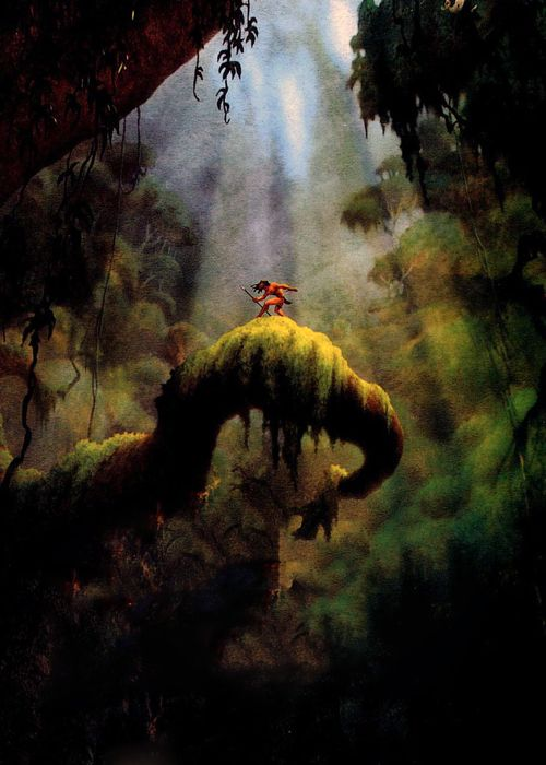 Textless Disney movie posters - Tarzan