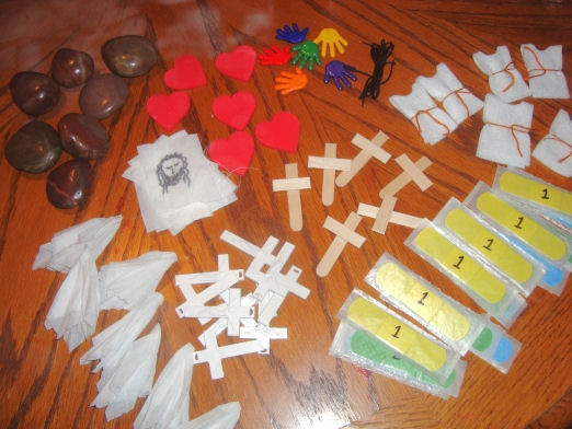 Stations of the Cross Eggs for Catholic Kids!