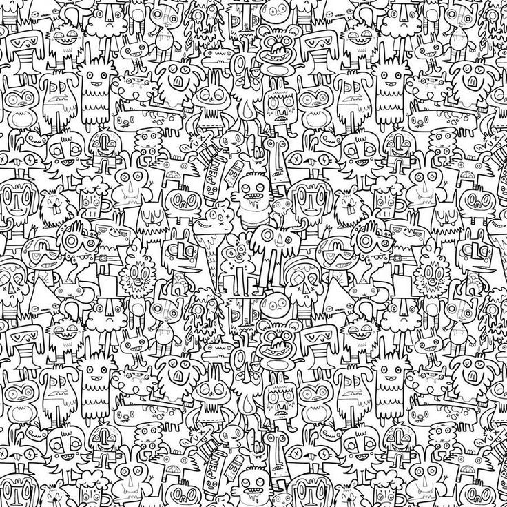 Creative colour in wallpaper doodles wallpapers and - Doodle desktop wallpaper ...