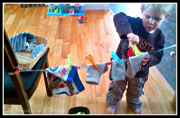 Four Quiet Time Activities for a Two or Three Year Old - My Nearest And Dearest