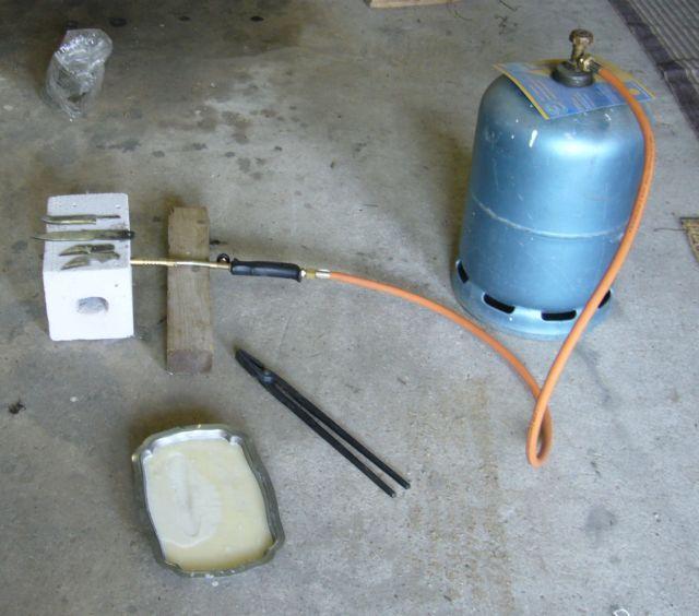 [TUTO] : une mini forge à gaz pour 25 Euros !