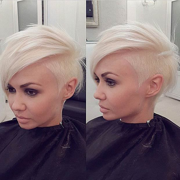 23 Most Bad-ass Shaved Hairstyles