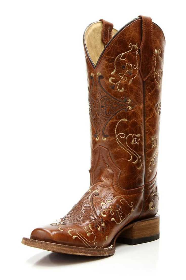 Circle G Brown Diamond Embroidered Women's Cowgirl Boots...just got this pair and they are beautiful!