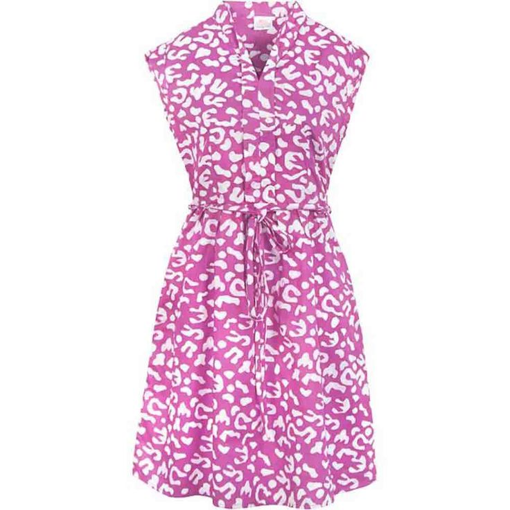 Fair Trade Batik Dress Retro Mauve - Tango Zulu
