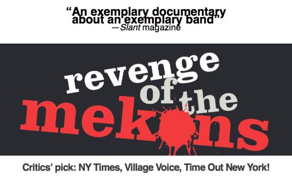 Rave reviews for Revenge of the Mekons :) #mekons #newdoc #musicdoc #punkrock