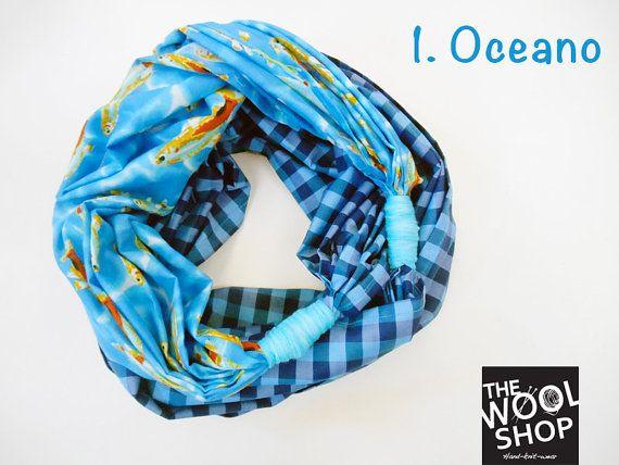 NODO: sciarpa estiva made in Italy 100% cotone!!!!!!