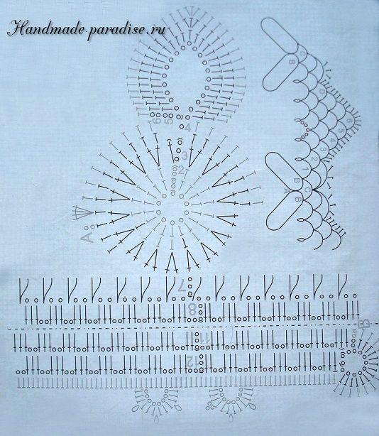 Схема пасхального зайца крючком