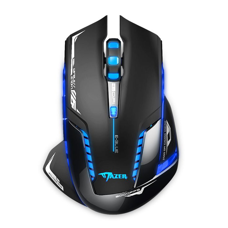 Wireless Gaming Mouse: http://www.goomart.net/products/recommend-e-3lue-e-blue-6d-mazer-ii-2500-dpi-2-4ghz-wireless-gaming-mouse-for-gamer-free-shipping/ #Wireless #Gaming #Mouse
