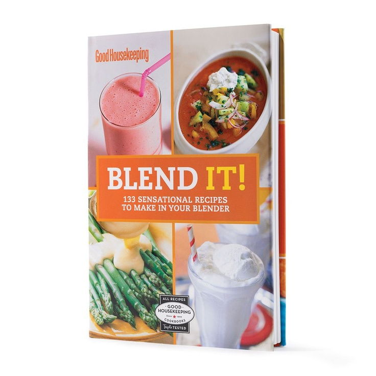 Put your blender to work with 133 tasty recipes. #Cookbook is just $5, and 100% of the net profit is donated to kids' health and education initiatives. #GoodHousekeeping #KohlsCares