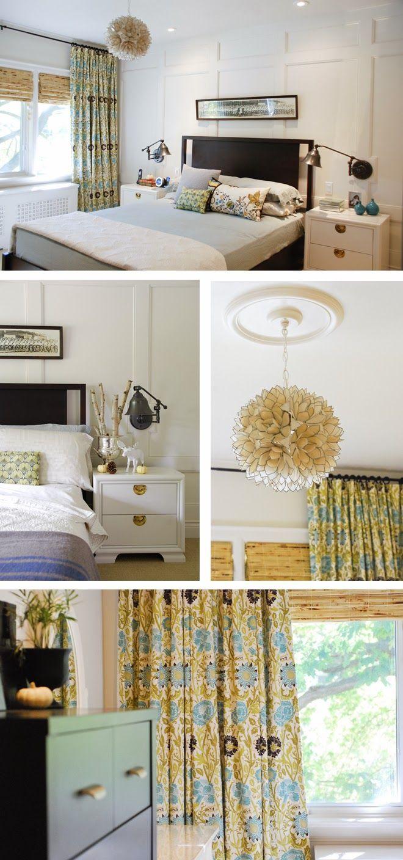 Mirror nightstands contemporary bedroom kimberley seldon design - Rambling Renovators House Tour Master Bedroom