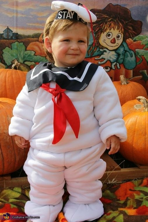 Baby Stay Puft Marshmallow Man - 2013 Halloween Costume Contest
