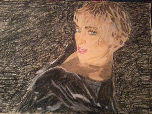 Portrait, 25X30 cm ca.
