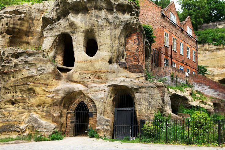 Grottes de Nottingham, Angleterre | 27 maisons souterraines à couper le souffle