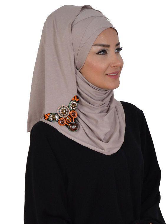 Cotton Express Hijab Code: CPS-0034  Muslim Women by HAZIRTURBAN