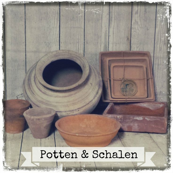 Potten & Schalen