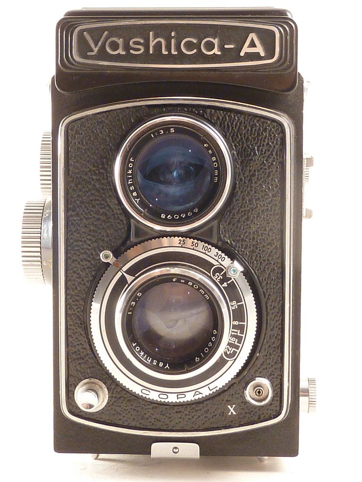 Yashica A TLR 120 Film Camera.