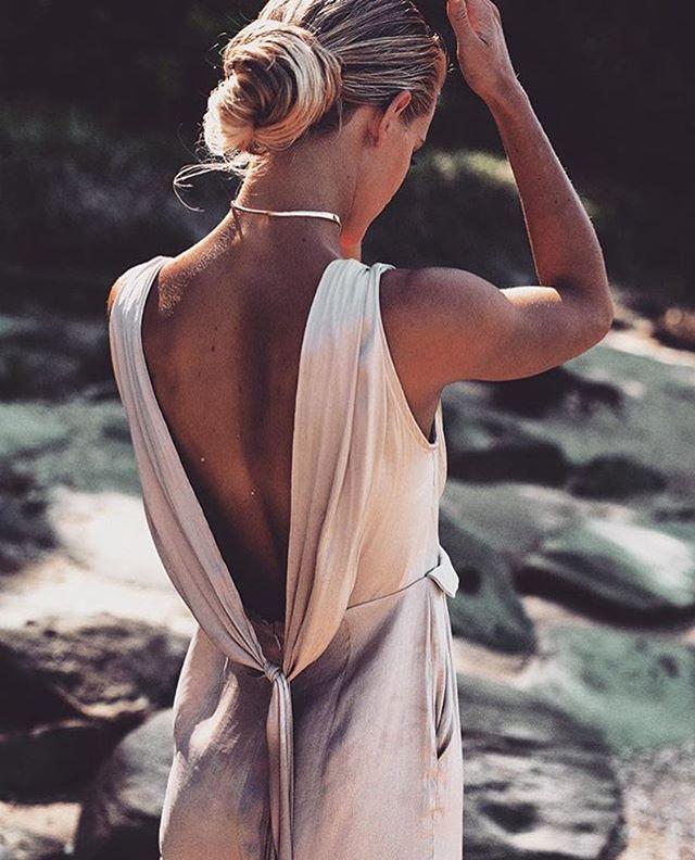 @saboluxe silk jumpsuit