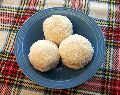 Traditional Scottish Food the second thing I would kill for! SNOWBALLS....to die for !