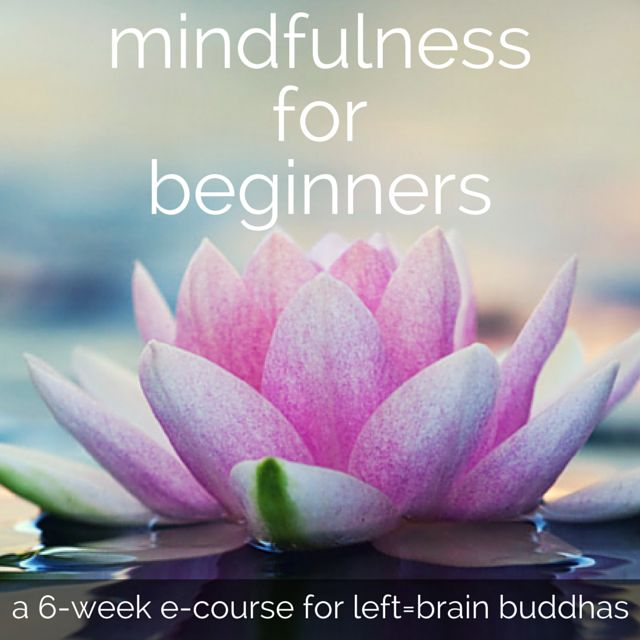 40 Ways to Bring Mindfulness to Your Days - Left Brain Buddha