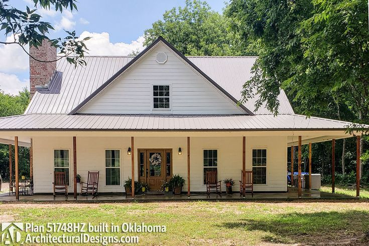 Plan 51748hz 3 Bed Country House Plan With Full Wraparound Porch