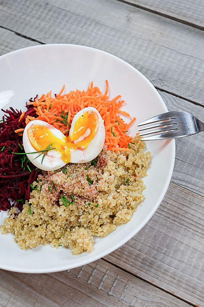 Recette d'une salade saveur framboise…