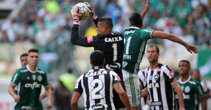 Após quatro jogos sem gols, Botafogo prega eficiência nos chutes pelo G6 - http://anoticiadodia.com/apos-quatro-jogos-sem-gols-botafogo-prega-eficiencia-nos-chutes-pelo-g6/
