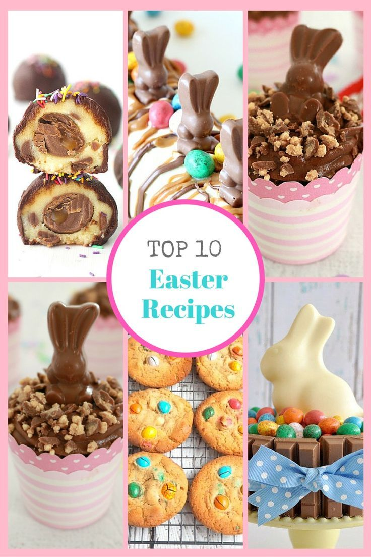 The Top 10 Easter Recipes that will blow the minds of even the biggest chocoholics out there. These are seriously AMAZING!! #easter #best #recipes #chocolate #baking