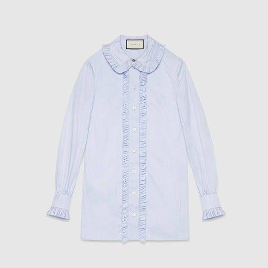 Gucci Camicia button-down in cotone oxford