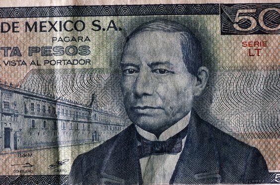 Benito Juarez (1806-1872) Presidente de mexico