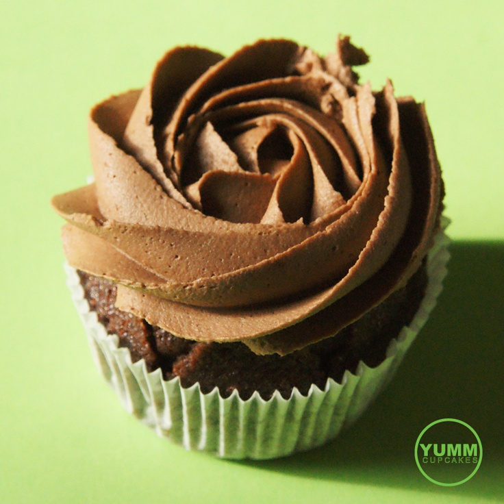 Day 1  A delicious Swiss chocolate YUMM Cupcake. join the family, like  www.facebook.com/ycbasel  www.yummcupcakes.com