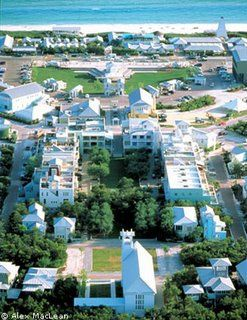 Seaside Florida: even if your budget isn't up to an overnight stay (you're not alone!), it's a great for a daytrip or just an afternoon of shopping and sightseeing.