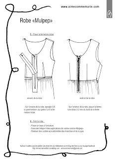 aimecommemarie: Mulpep version robe - Le tuto !!!