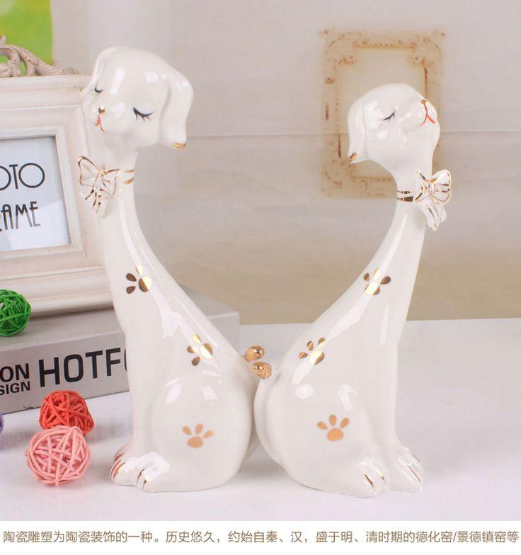 Современная мода творческих пара милые маленькие украшения дома украшения украшения ремесел День Святого Валентина подарок - Taobao