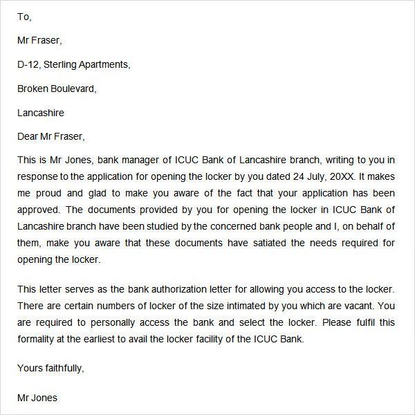 authorization letter free doc download debit authority bank formatnk