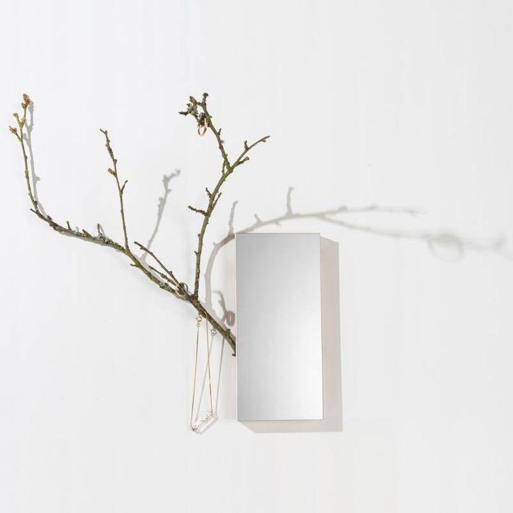 Belle du jour - specchio con ramoscello portaoggetti   regali
