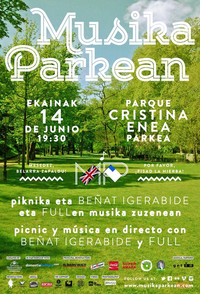 Musika Parkean XXIV - 14.06.2014, Parque Cristina-Enea parkea