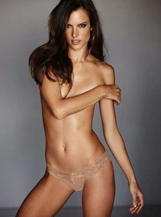 Nude alessandra models secret naked victoria ambrosio