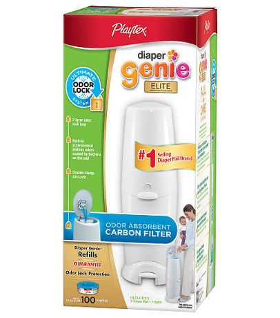 http://www.dressesforbabygirls.com/category/diaper-genie/ http://www.babytoys6months.com/category/diaper-genie-refill/ Playtex Diaper Genie Elite with 100 Count Refill & Carbon Filter