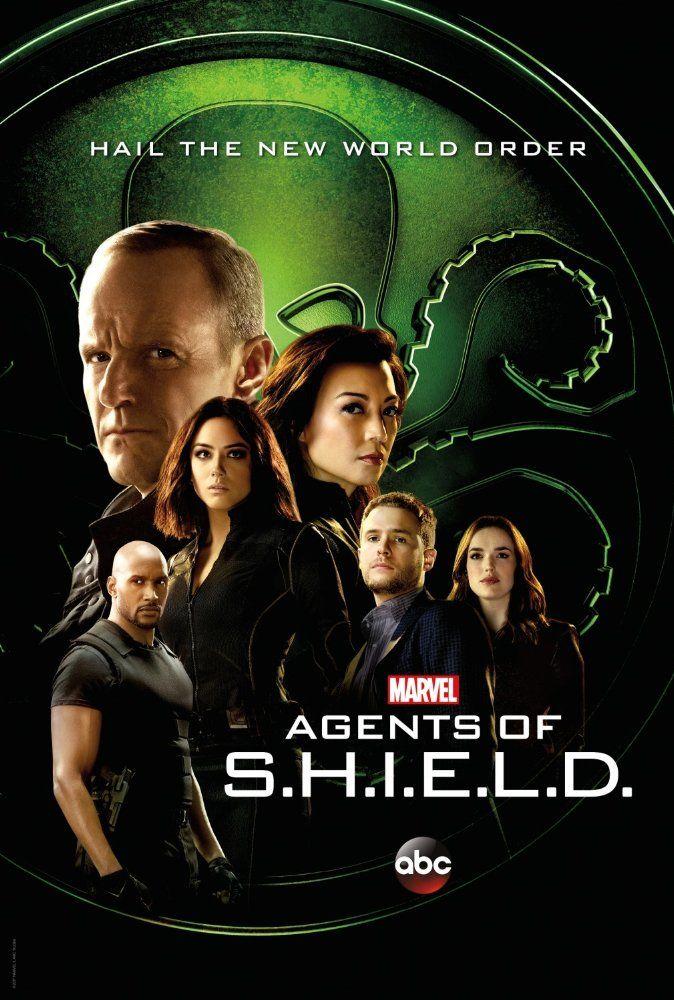 Ming-Na Wen, Henry Simmons, Clark Gregg, Iain De Caestecker, Chloe Bennet, and Elizabeth Henstridge in Agents of S.H.I.E.L.D. (2017)