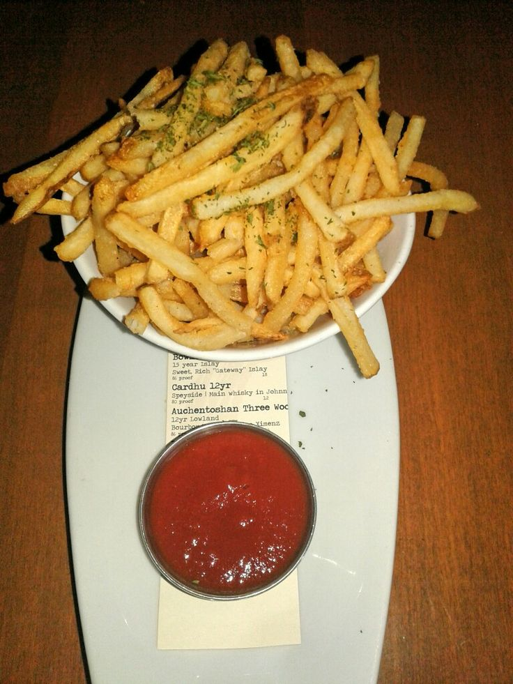Chapter One: The Modern Local,  Santa Ana,  CA  Duck Fat Fries