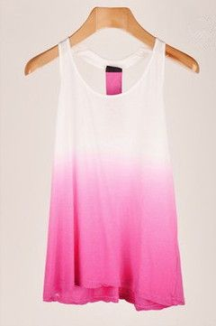 Tie Dye Tank Top, I want multiple versions of this. In different colors styles, you name it. It will be my collection!