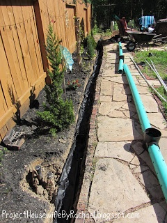 Inspirational Project Housewife French Drain