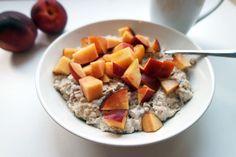 gesunde Clean Eating Rezepte: Frühstücks-Proats (Oatmeal und Skyr)