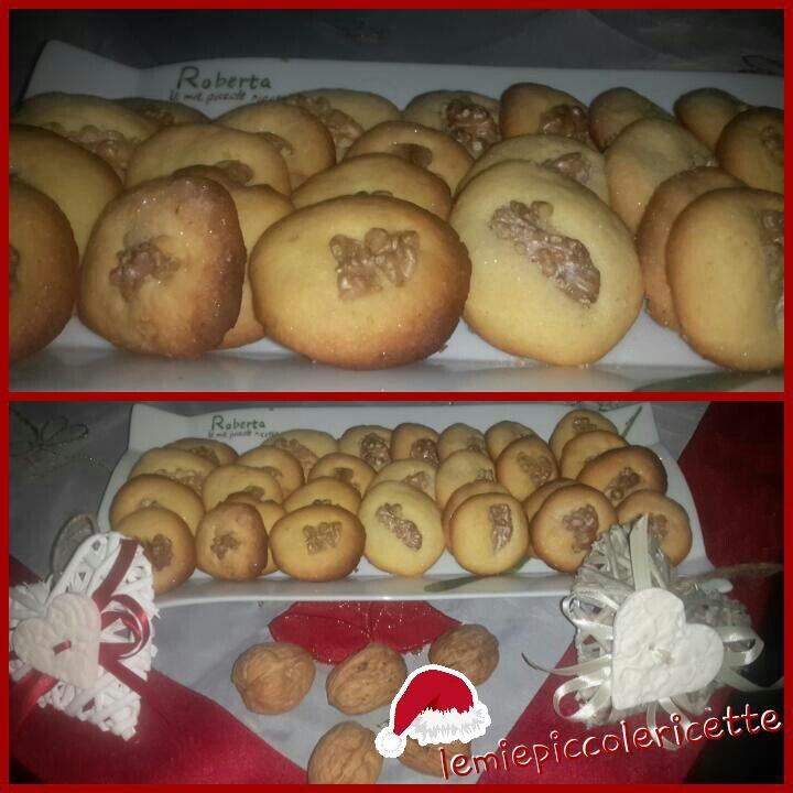 Biscotti alle noci  http://m.lemiepiccolericette.it/products/biscotti-alle-noci/
