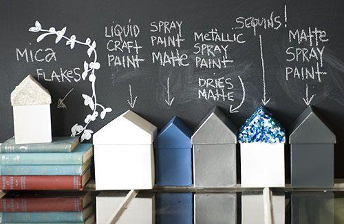 Små #huse til #opbevaring eller #gaveindpakning